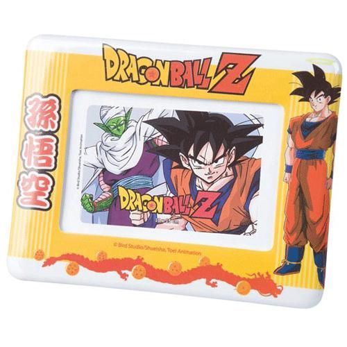 cadre photo dragon ball sangoku. Black Bedroom Furniture Sets. Home Design Ideas