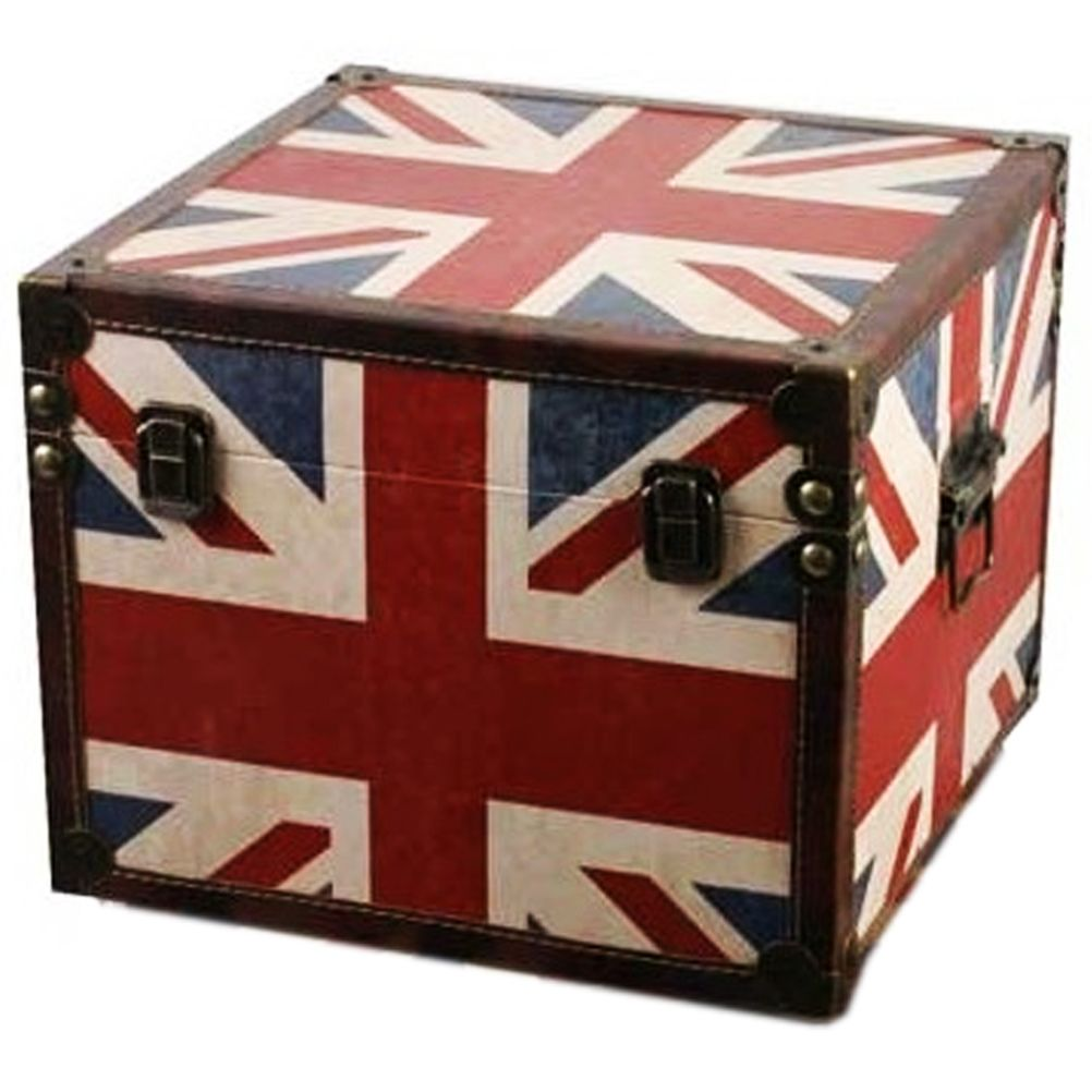malle de rangement union jack 33 cm. Black Bedroom Furniture Sets. Home Design Ideas