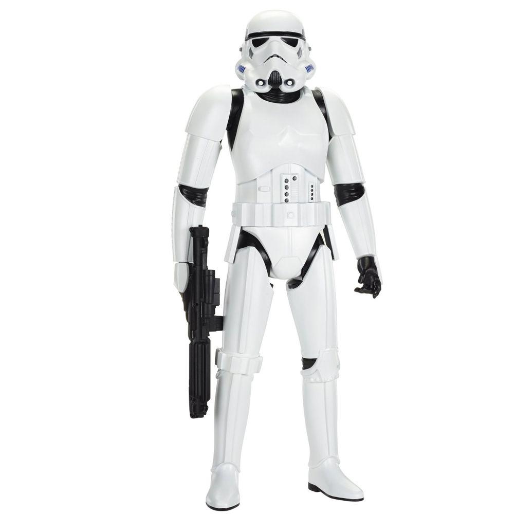 figurine stormtrooper 79 cm star wars. Black Bedroom Furniture Sets. Home Design Ideas