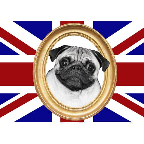 Tapis de souris London Union Jack Carlin By Cbkreation