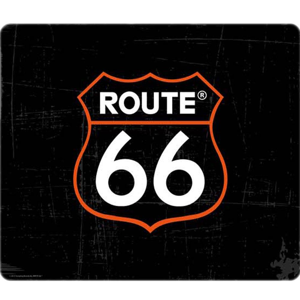 tapis de souris route 66 logo noir. Black Bedroom Furniture Sets. Home Design Ideas