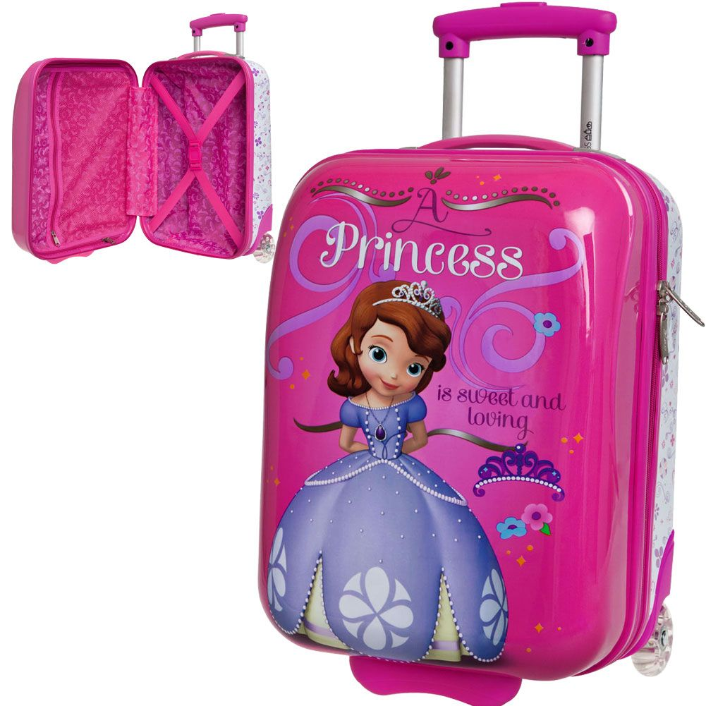 petite valise coque rigide disney princesse sophia 40 cm. Black Bedroom Furniture Sets. Home Design Ideas
