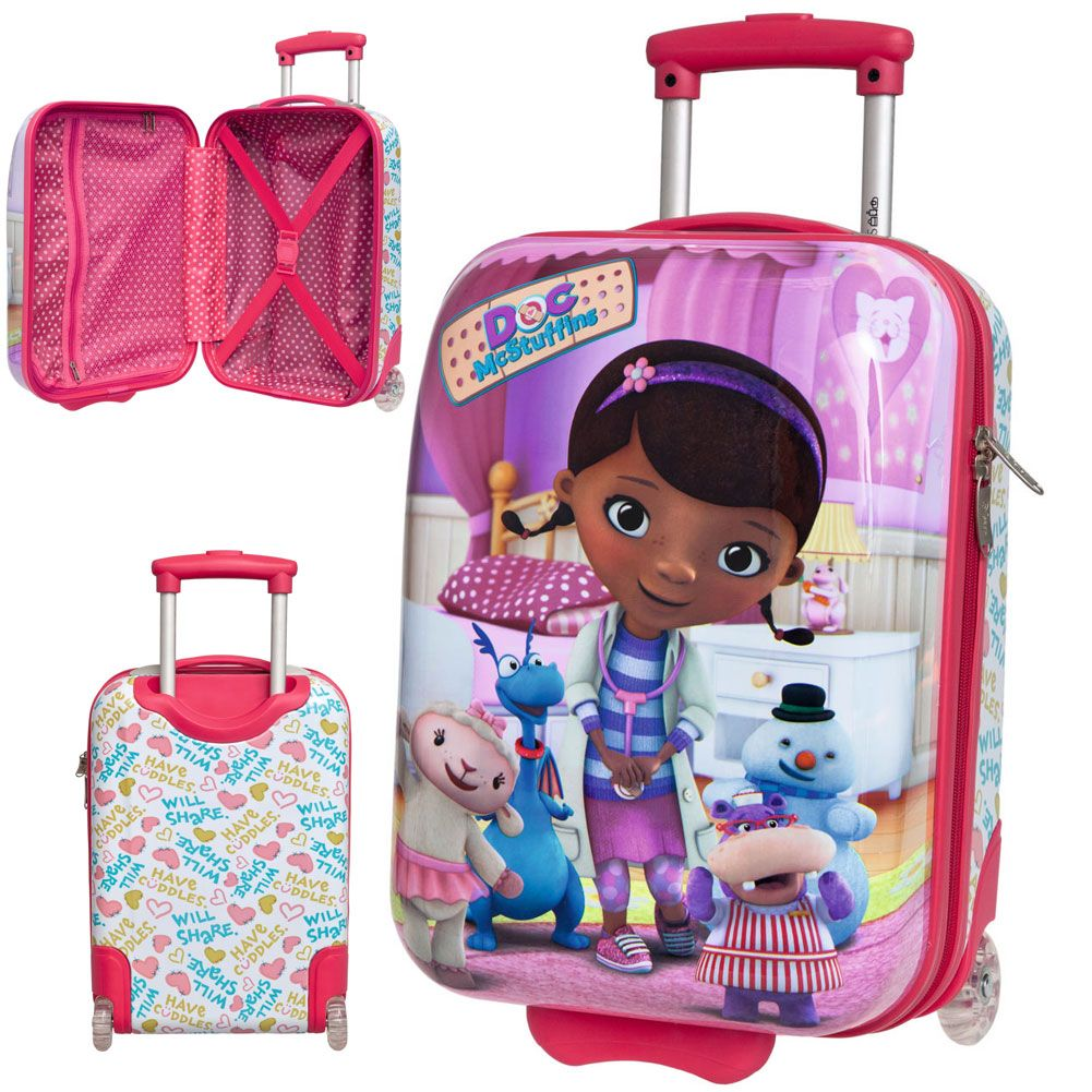 valise disney docteur la peluche. Black Bedroom Furniture Sets. Home Design Ideas
