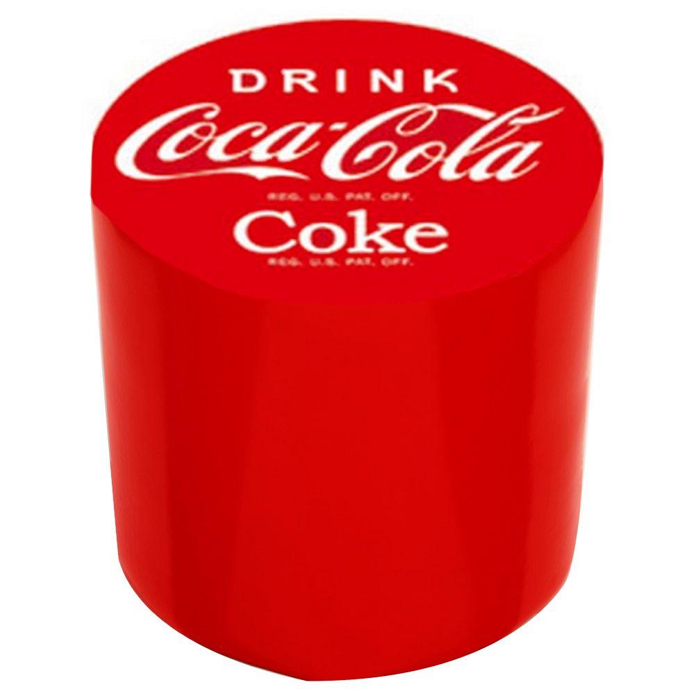 pouf tabouret chaise bureau chambre mobilier coca cola drink. Black Bedroom Furniture Sets. Home Design Ideas