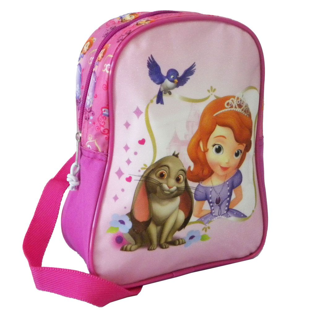Petit sac dos princesse sofia et clovis le lapin - Lapin princesse sofia ...