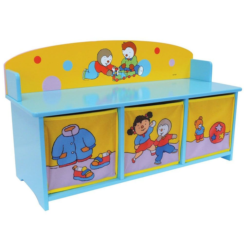 banc meuble rangement jouets malle t 39 choupi. Black Bedroom Furniture Sets. Home Design Ideas
