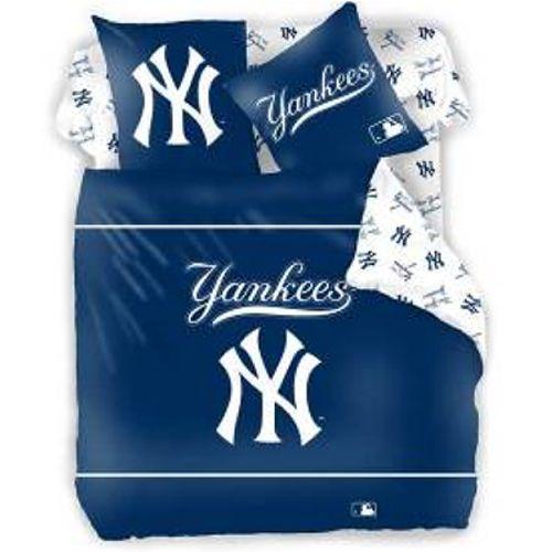 parure de lit new york yankees. Black Bedroom Furniture Sets. Home Design Ideas
