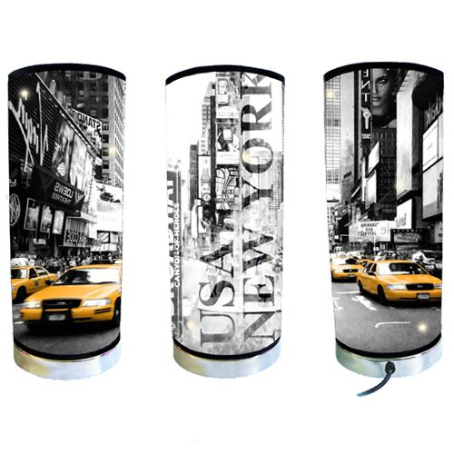 Lampe new york city and taxi for Lampe de bureau new york