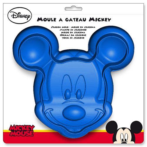 Turbo à gâteau en silicone bleu Mickey Mouse SK27