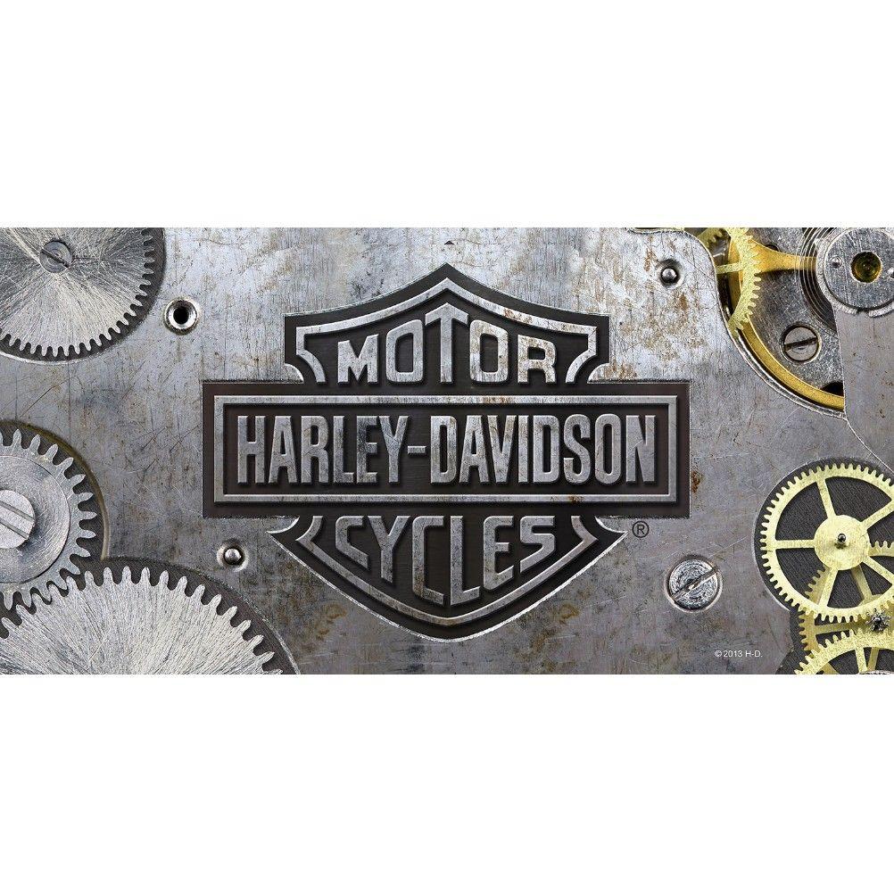 Serviette Bain Plage Drap Toilette Homme Harley Davidson Gears 150 X