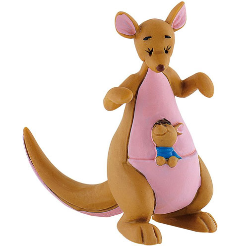 Disney Porte-clé Winnie l/'Ourson Grand Gourou et Petit Gourou