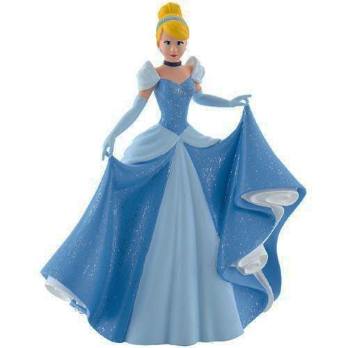 figurine disney princesses cendrillon en robe de bal. Black Bedroom Furniture Sets. Home Design Ideas