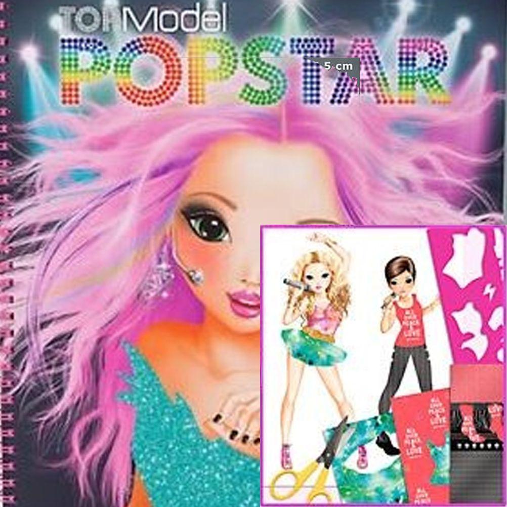 Album coloriage popstar top model lexy - Album de coloriage top model ...