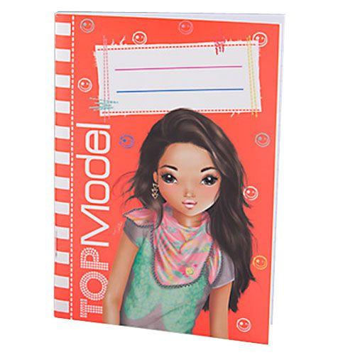 petit carnet de notes top model orange. Black Bedroom Furniture Sets. Home Design Ideas