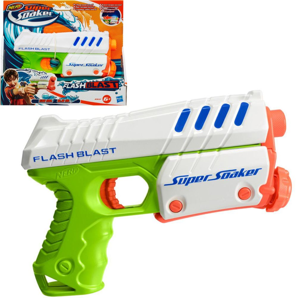 pistolet eau nerf super soaker flash last. Black Bedroom Furniture Sets. Home Design Ideas