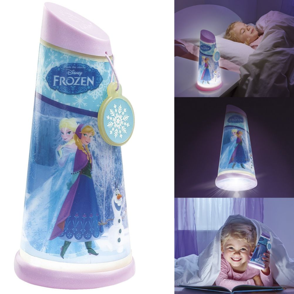 veilleuse lampe de poche 2 en 1 disney frozen. Black Bedroom Furniture Sets. Home Design Ideas