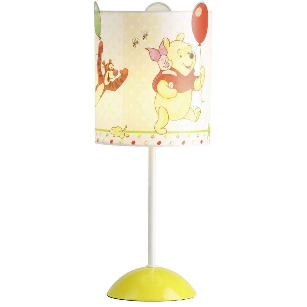 lampe de chevet disney winnie l 39 ourson d coration luminaire chambre enfant. Black Bedroom Furniture Sets. Home Design Ideas