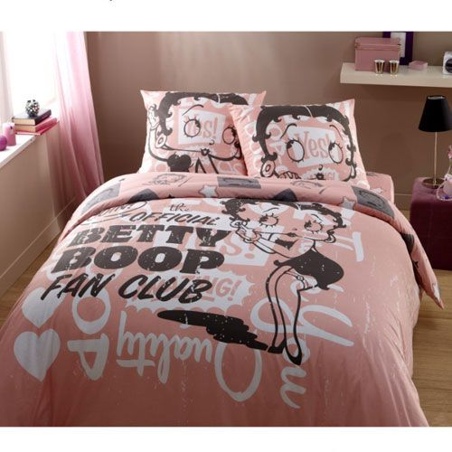 parure de lit betty boop fan club. Black Bedroom Furniture Sets. Home Design Ideas