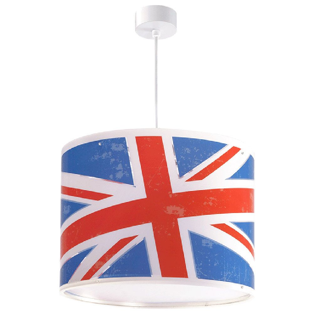 lampe lustre luminaire suspension design england union jack. Black Bedroom Furniture Sets. Home Design Ideas