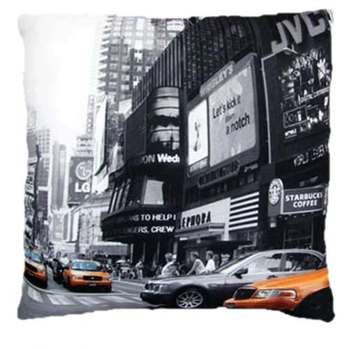 coussin taxi new york street. Black Bedroom Furniture Sets. Home Design Ideas