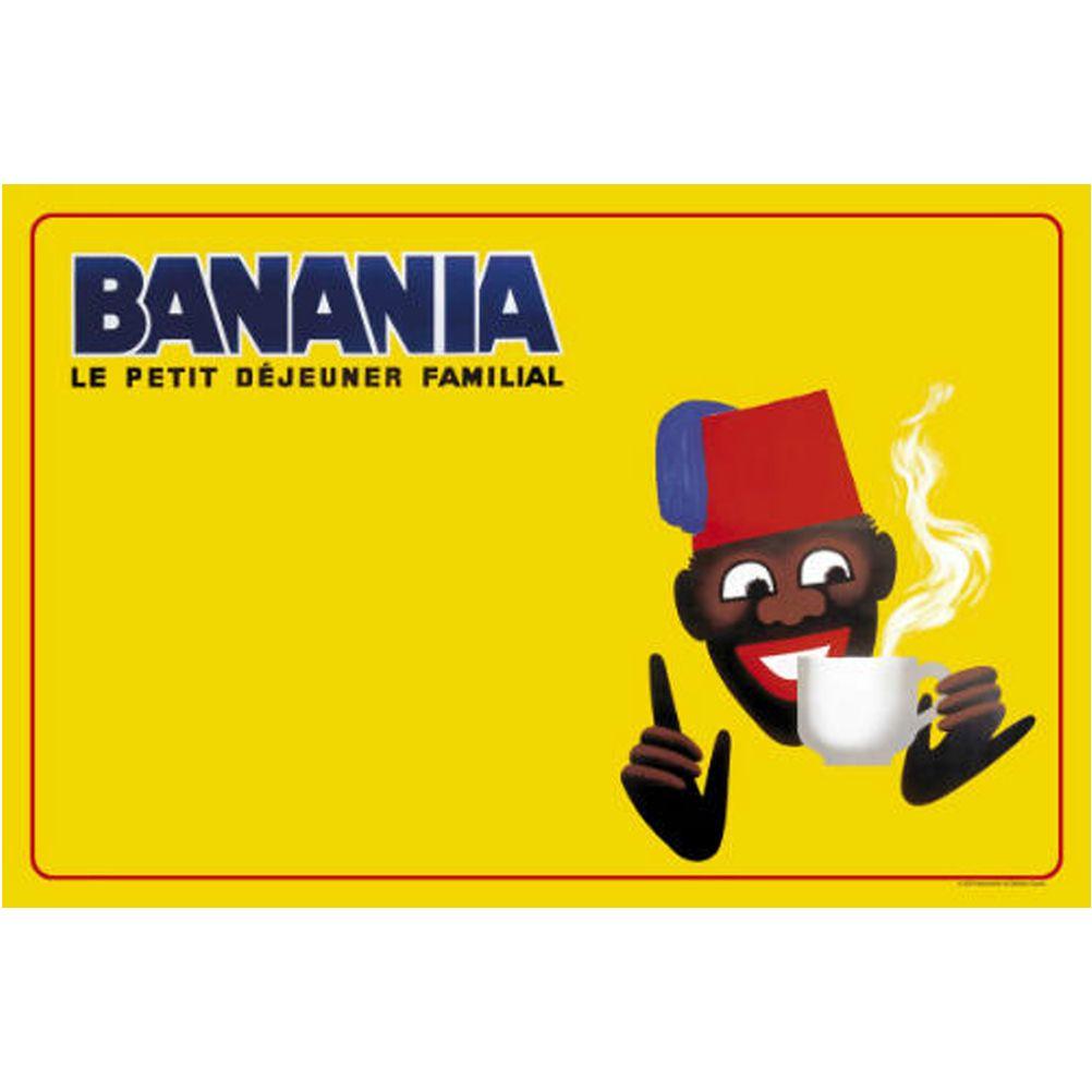 Set de table r tro banania par herv morvan - Set de table paillete ...