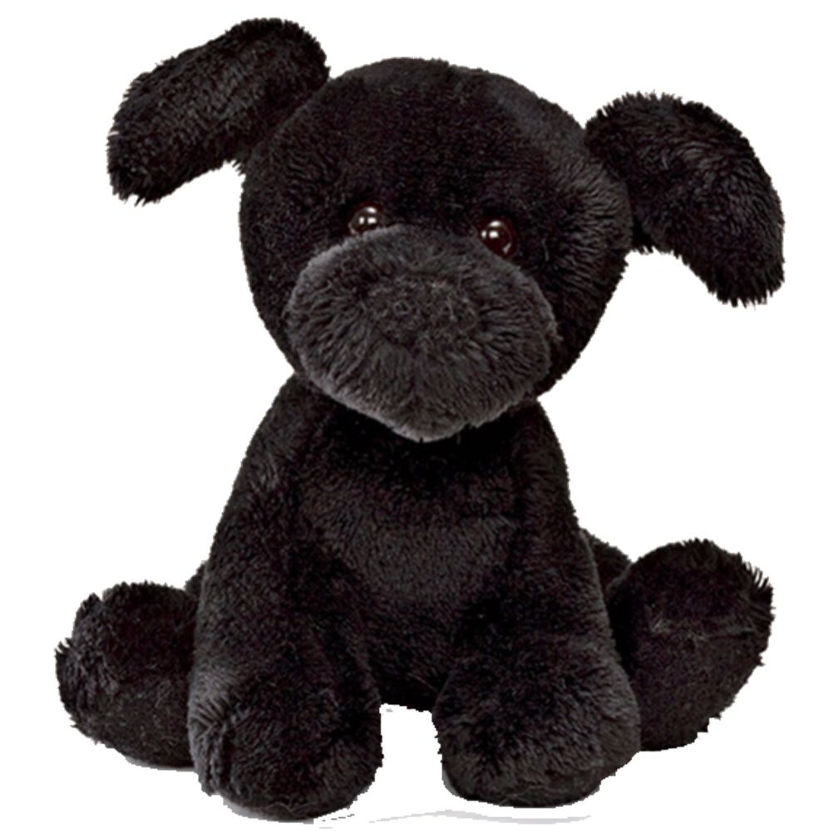 peluche gund petit chien noir sonore 12 cm. Black Bedroom Furniture Sets. Home Design Ideas