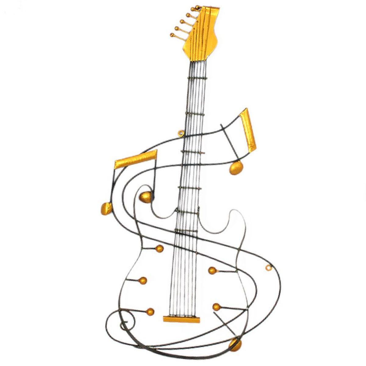 D coration murale guitare lectrique 89 cm for Decoration murale guitare
