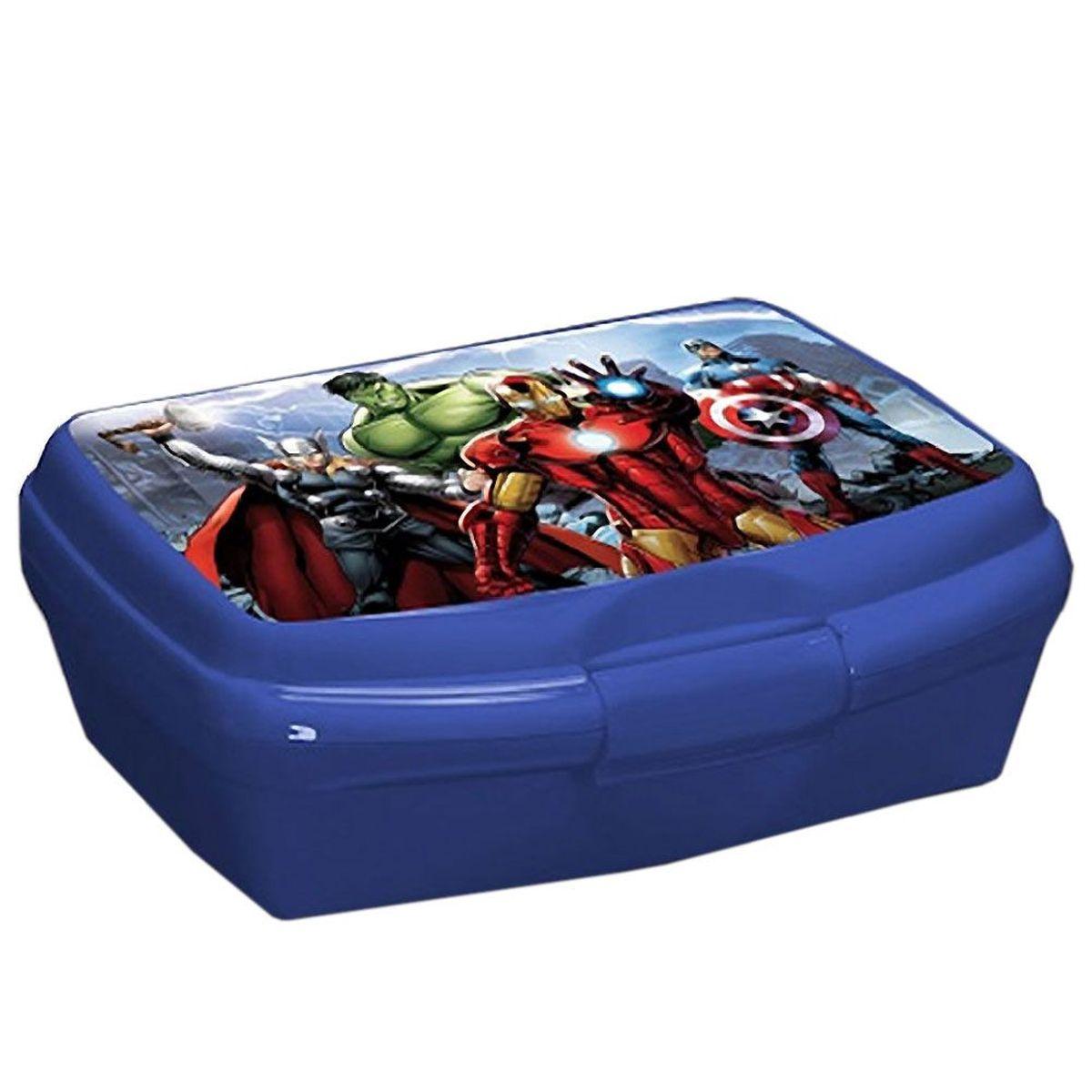 Boite gouter avengers captain america iron man thor hulk - Boite a gouter personnalisee ...