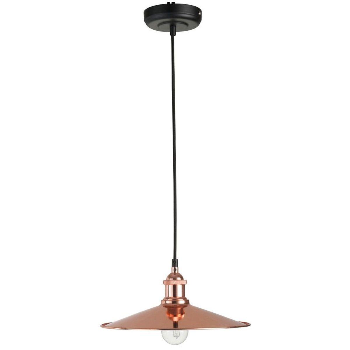 lampe bureau cadeau d coration suspension r tro industrielle en m tal cuivr. Black Bedroom Furniture Sets. Home Design Ideas