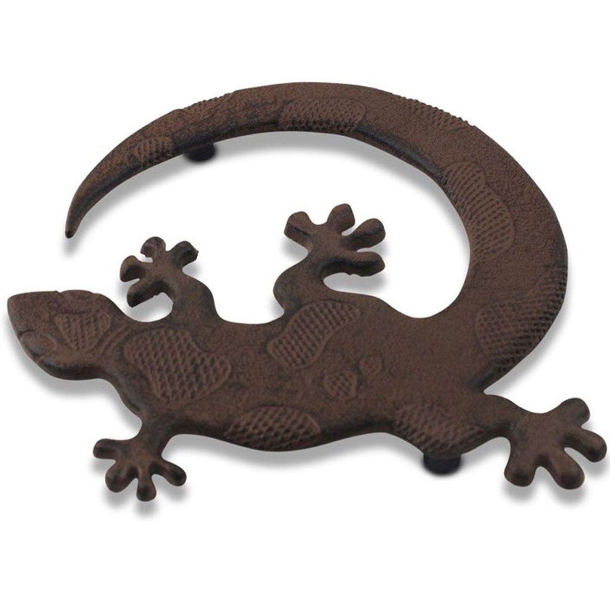 Dessous de plat salamandre en m tal vieilli 20 cm - Dessous de plat en metal ...