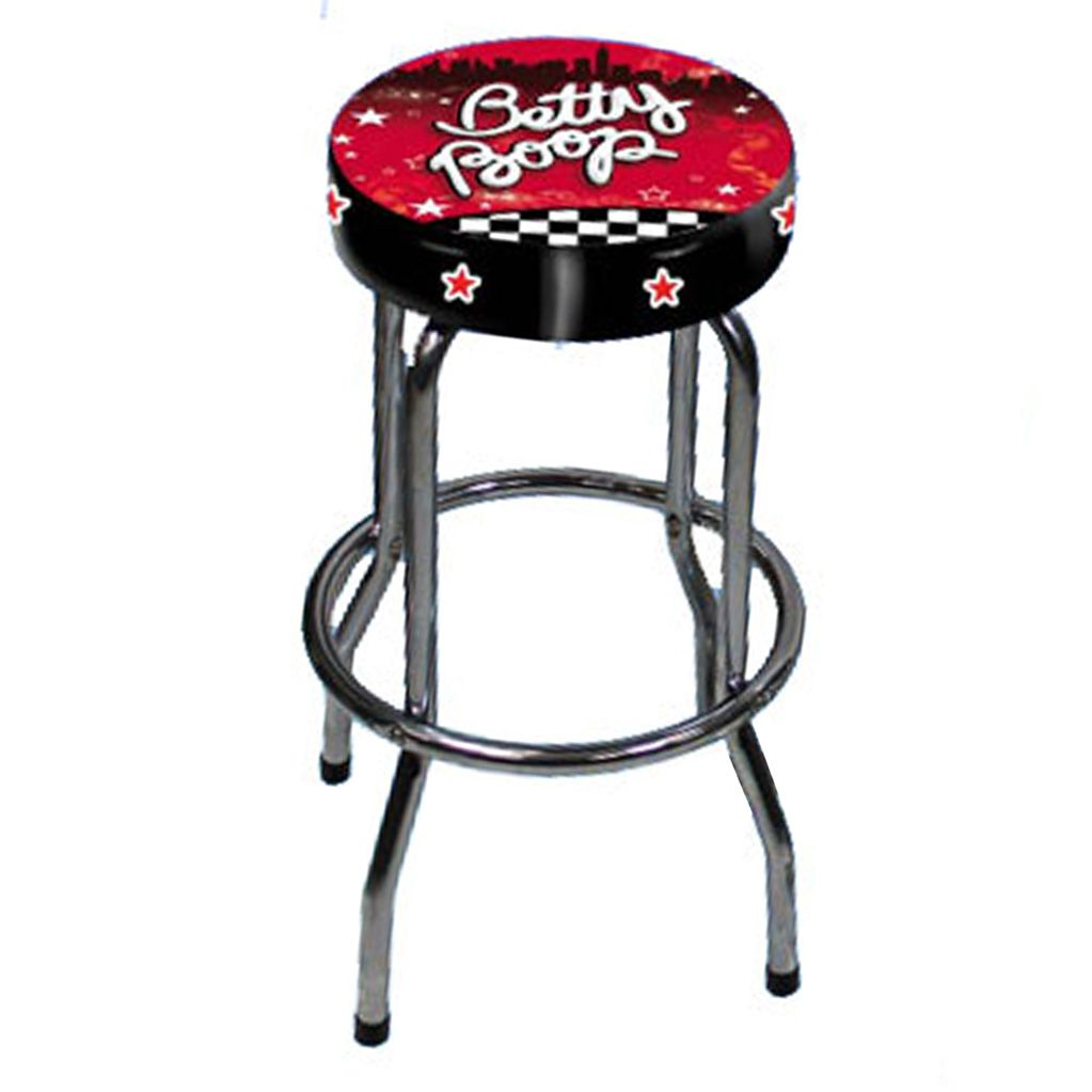 tabouret de bar original design cadeau betty boop. Black Bedroom Furniture Sets. Home Design Ideas