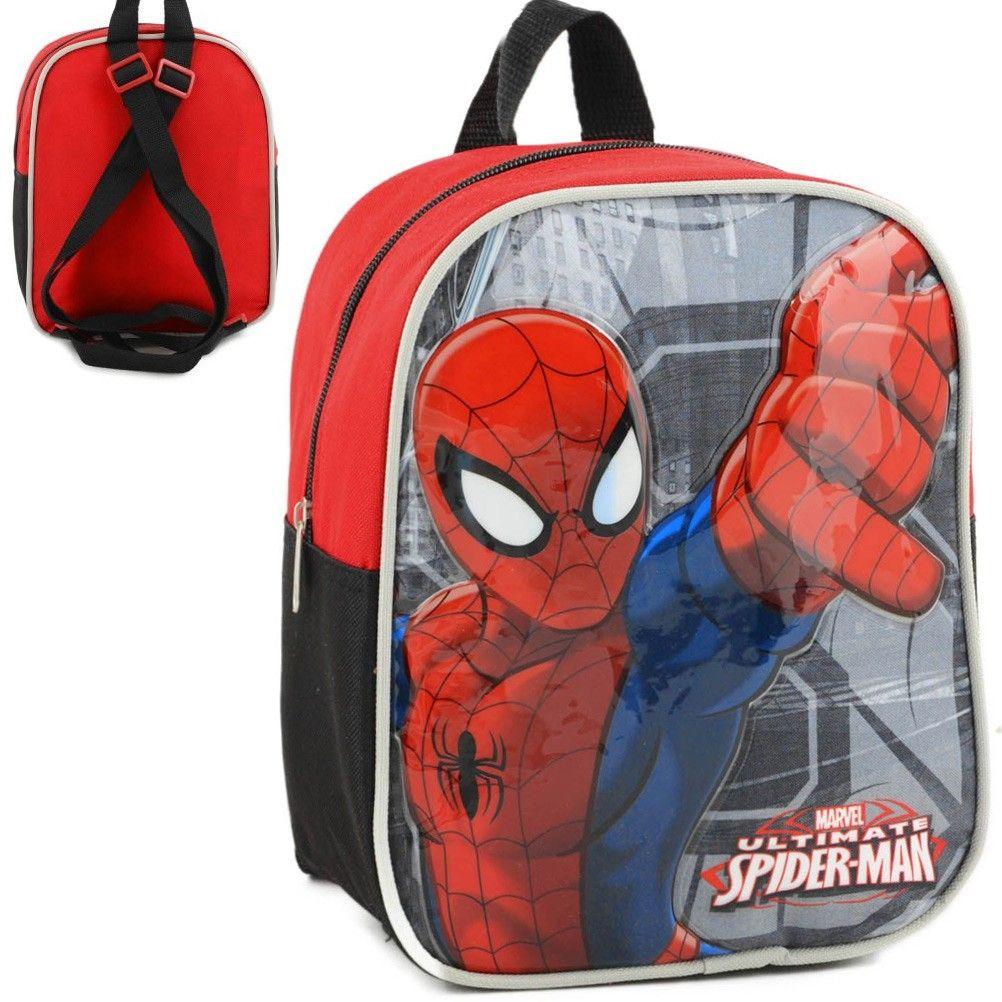 sac dos spiderman marvel maternelle et cr che. Black Bedroom Furniture Sets. Home Design Ideas