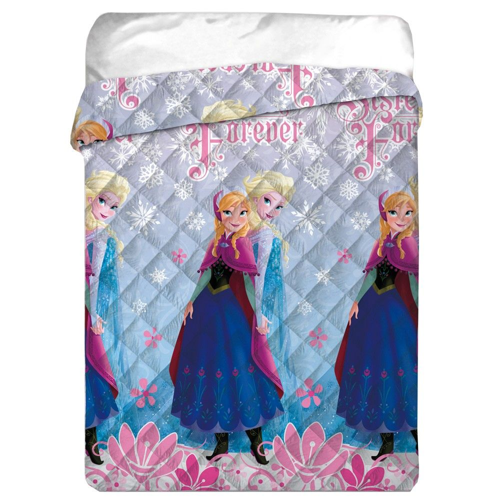 couette la reine des neiges disney frozen imprim e 140 x. Black Bedroom Furniture Sets. Home Design Ideas