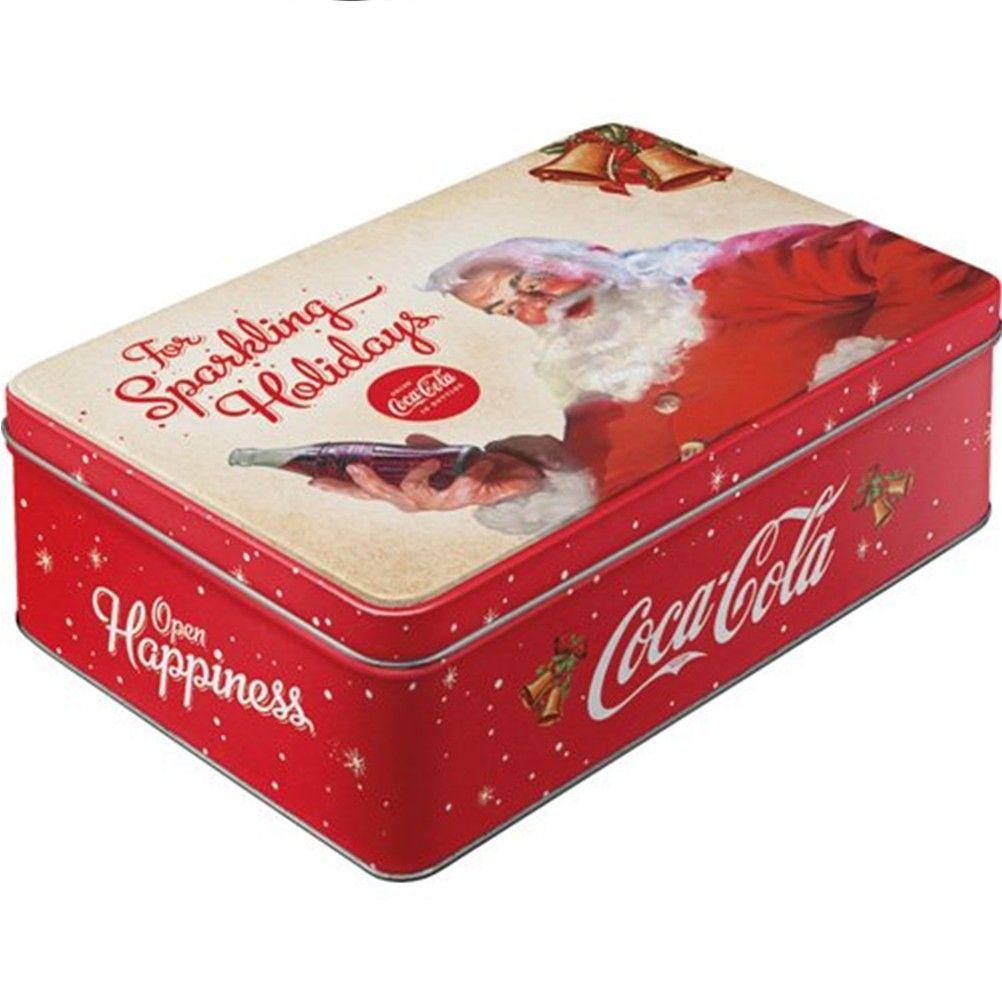 boite sucre rangement alimentaire cadeaux boite sucre coca cola no l. Black Bedroom Furniture Sets. Home Design Ideas