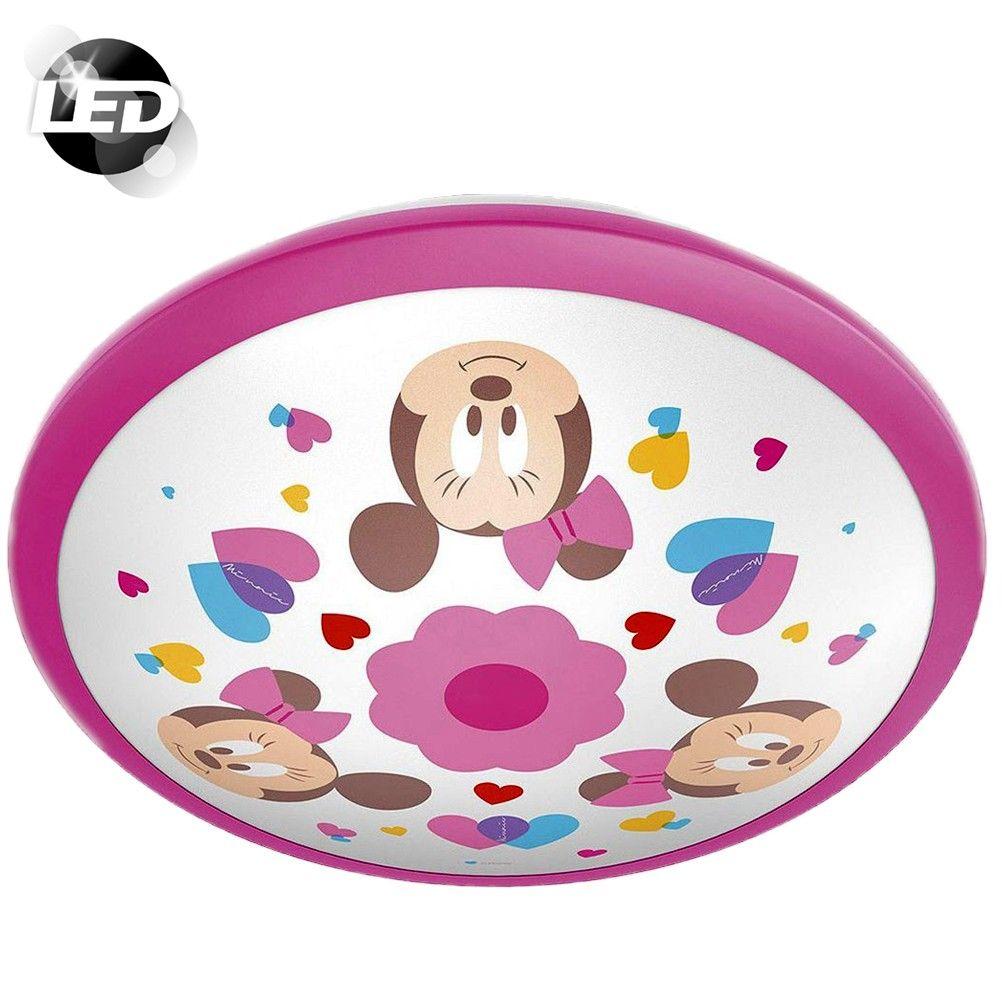 Applique Murale Disney Mouse Led Minnie Luminaires Chambre Lampe À wP8nk0O