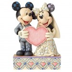 Figurine Mickey et Minnie Mariage Disney Traditions collection