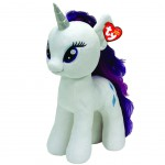 Peluche TY The Beanie Buddies - Mon Petit Poney Rarity 40 cm