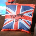 Coussin déhoussable London Union Piccadilly Circus - Garde