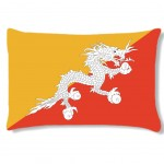 Coussin Bhoutan par Cbkreation 45 cm