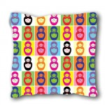 Coussin Poupées russes multicolor by Cbkreation