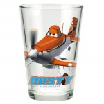 Verre à jus de fruit Disney Planes Dusty Like a Champion