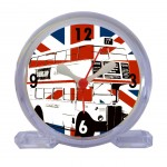 Réveil Plexiglas A Bus from United Kingdom by Cbkreation