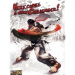 Poster Street Fighter Ryu 52 x 38 cm