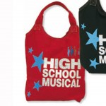 Sac cabas High School Musical shopping Rouge