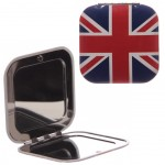 Miroir de sac London Union Jack Carré