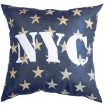 Coussin déhoussable USA NYC Stars