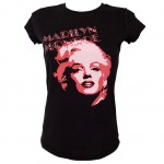 T-shirt Marilyn Monroe Strass By Sam Shaw Taille XS