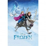 Poster Frozen Ride - La reine des neiges 61 x 91.5 cm