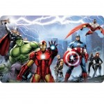 Set de table Avengers 3D Lenticulaire La Team au complet