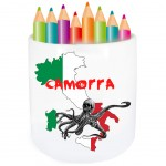 Pot à crayon Camorra par Cbkreation